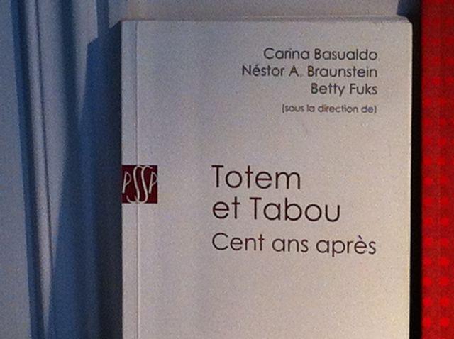 Totem et Tabou 100 ans après